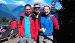 Erwin, Hannelore og Hans Peter